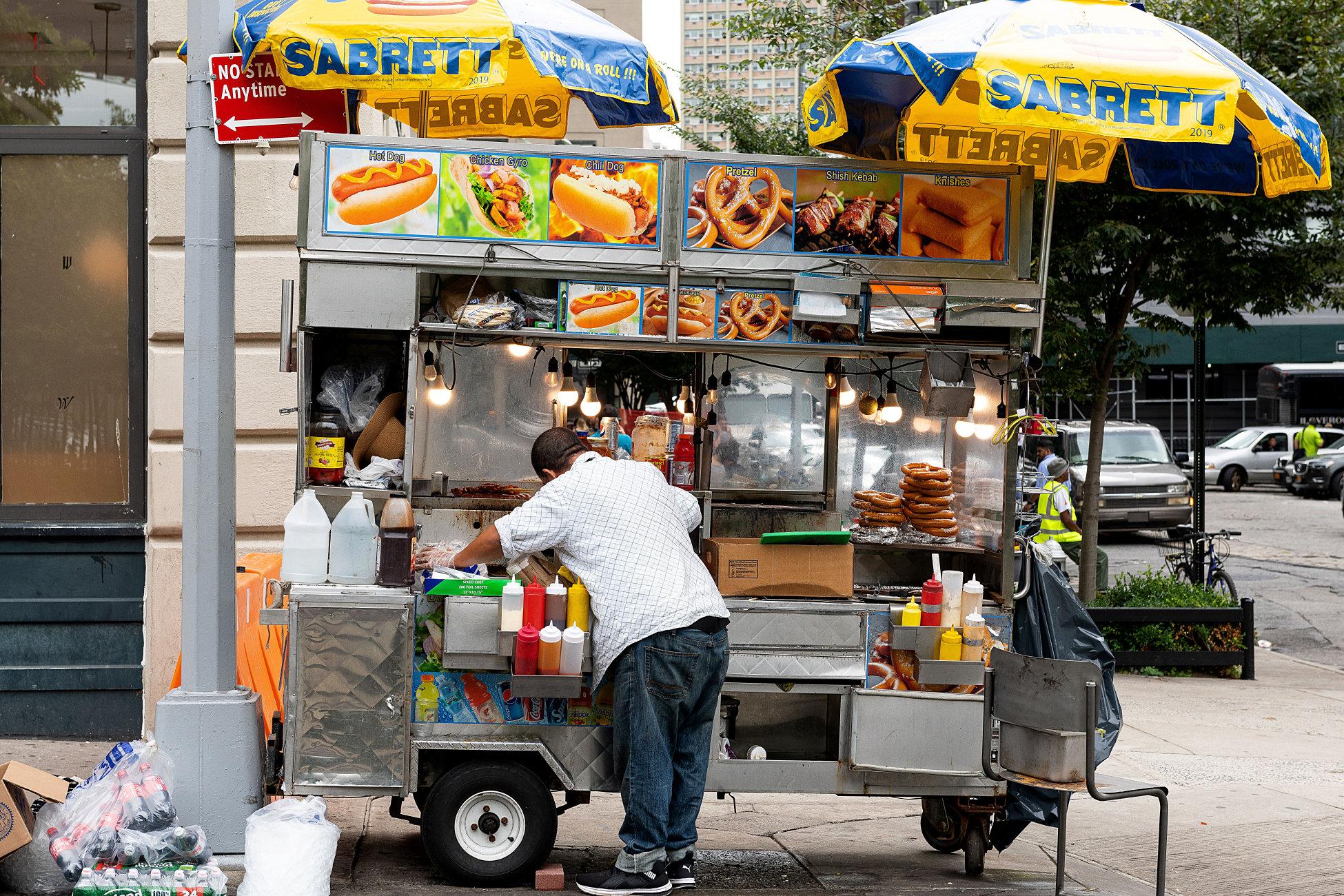New York Food Cart