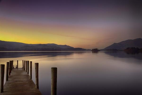 Sunset Jetty by adamsa