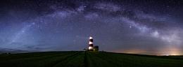Milky way & Happisburgh lighthouse