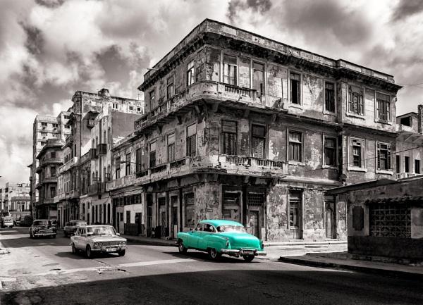 Cuban Back Street by ChrisBanks