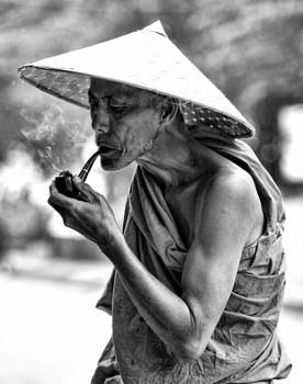Smoking Monk