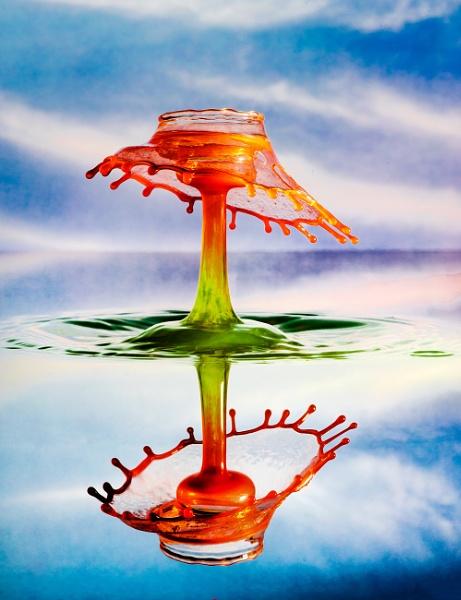 Water Drop PhotoArt 2006042 by Deep_Bhatia