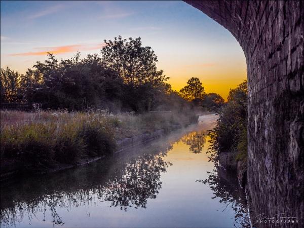 Misty Bridge by johnnyjohhny