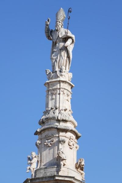 Colonna di Sant\'Oronzo, Ostuni, Province of Brindisi, Italy by lgc