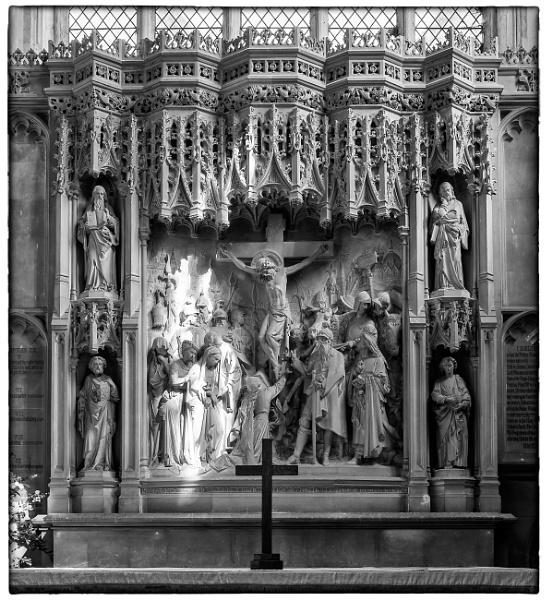 Long Melford Church Altar - Detail by NevJB