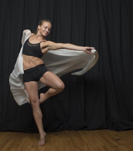 Leighann dancing by Ahem