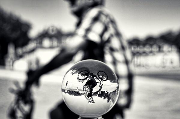 Old biker by icipix