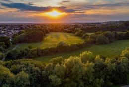 Seven Fields Sunset