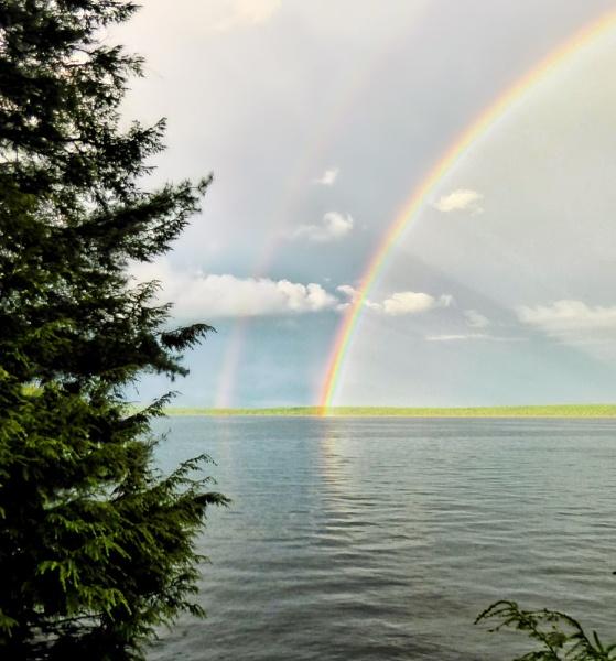 Double Rainbow by Joline