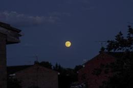 Strawberry moon.