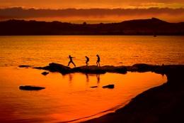 Sunset - Lake Taupo, New Zealand
