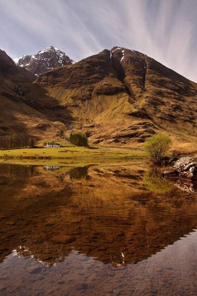 Loch Achintorin by stokesy