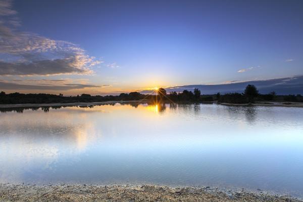 Sunrise Pond by NickLucas