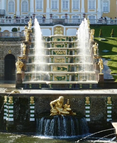 Peterhof palace, ST Petersburg by Maple62