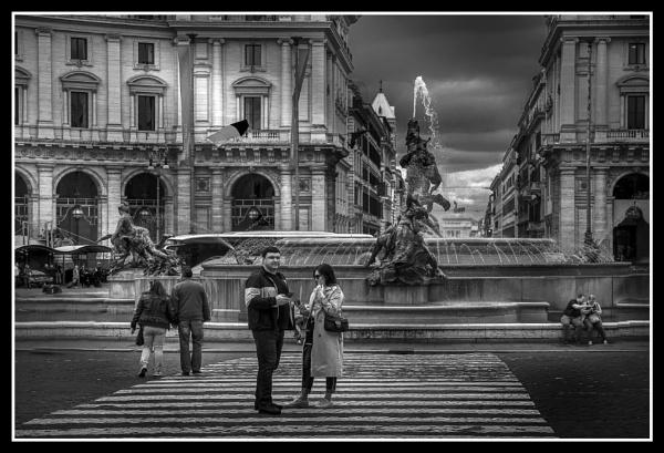 Piazza della Repubblica, Rome by Edcat55