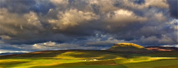 Dramatic Dales Landscape by Grumby