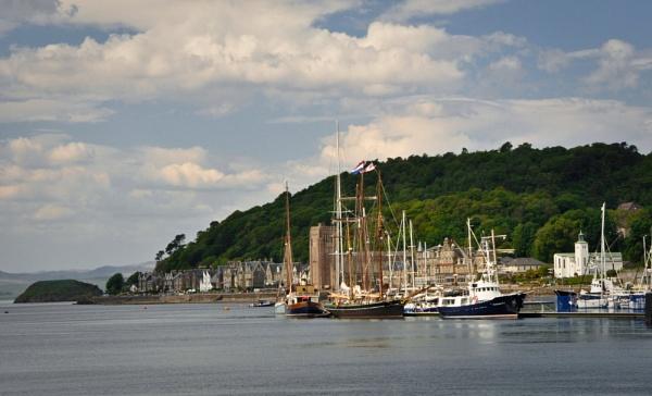 Tall ships Oban by paulsfrear