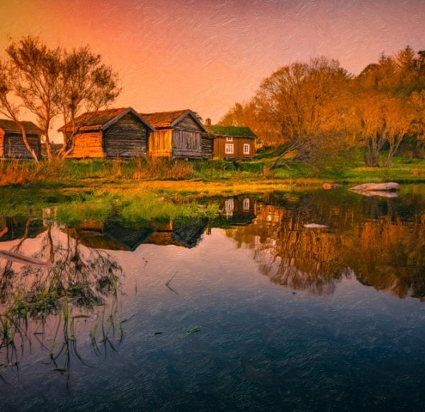 Norwegian silence by INK74