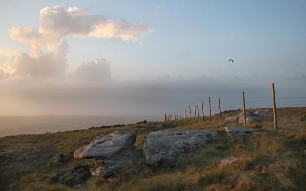 Evening light near Slades Rocks by michaelfox