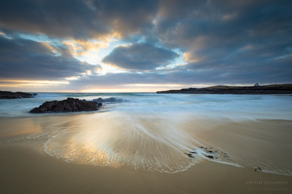 Clachtoll Beach Lochinver Scotland by Philpot