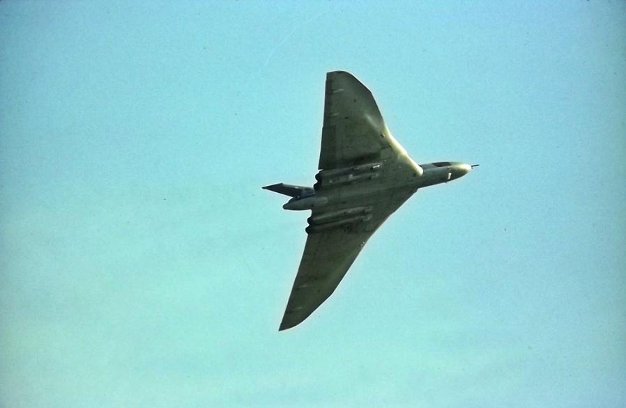 Vulcan Leuchars 1971
