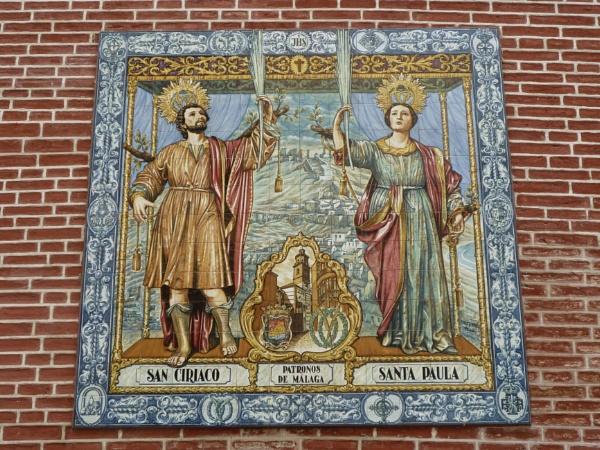 Patron saints of Malaga by Maple62