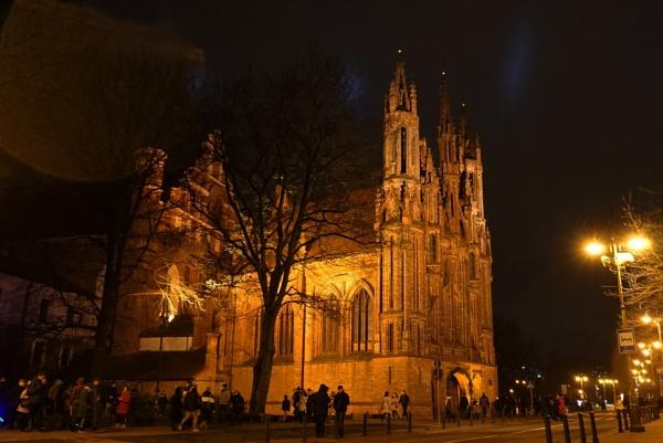 St. Anne\'s Church by SauliusR