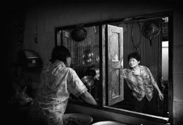 Kitchen life mirror