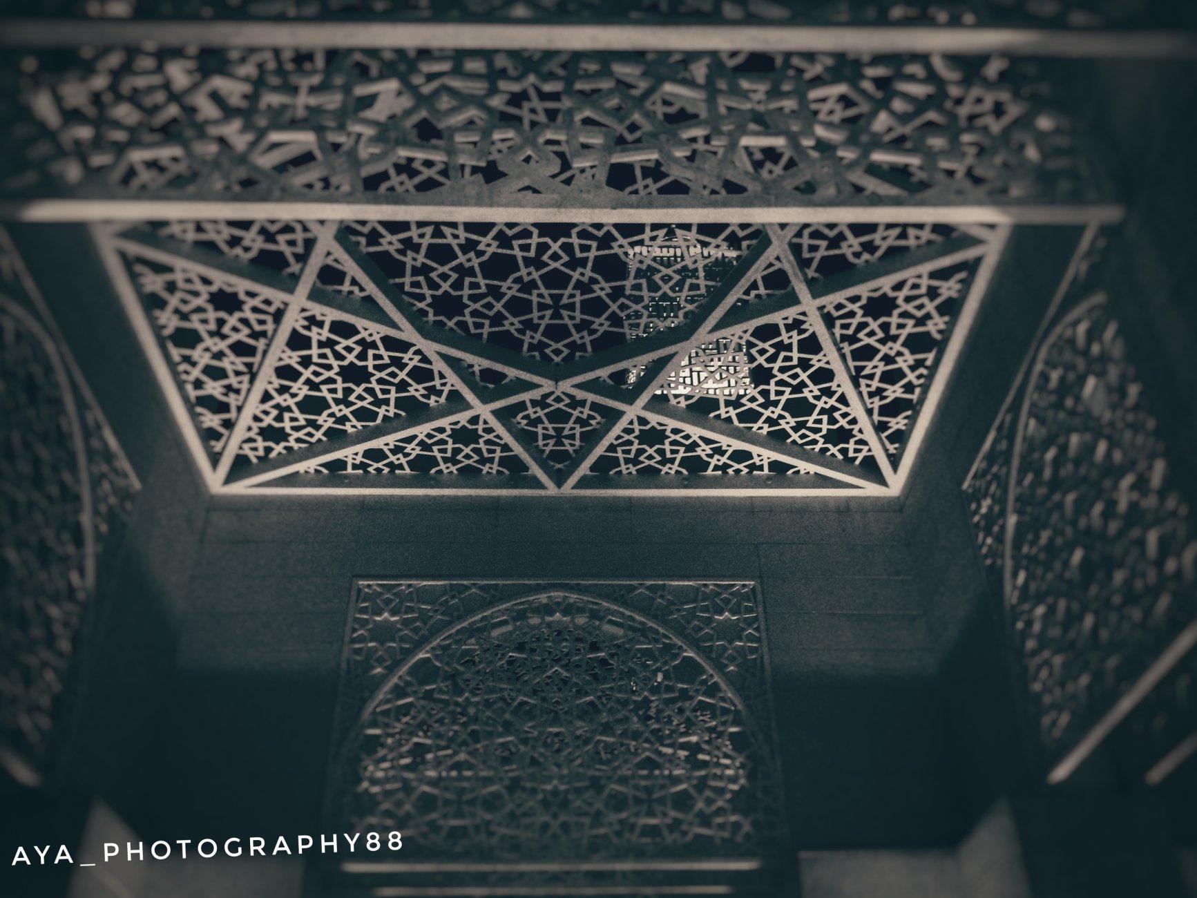 This Amna Bint Ahmed Alghuir mosque at alsafiya park in ajman