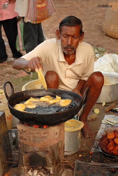 Kolkata # 17 Beguni-popular street fast food by debu