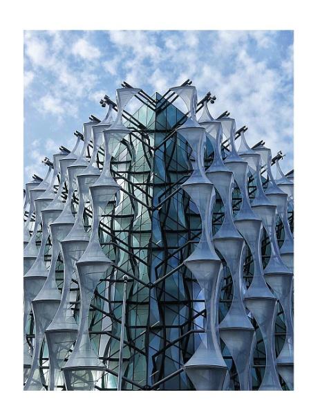 American Embassy Vauxhall London by StevenBest