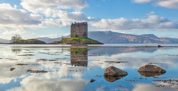 Summer, Castle Stalker, Appin, Scottish Highlands by ThomasGorman