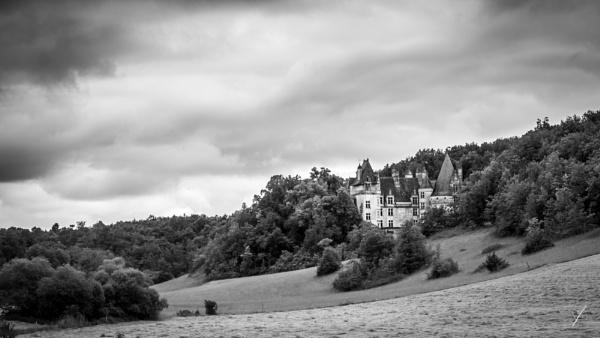 Chateau Puyguilem, Dordogne by chataignier