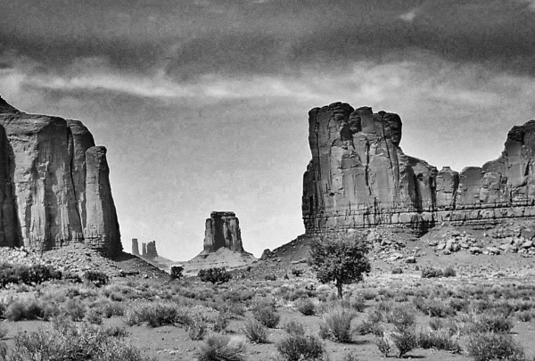 Monument Valley storm by BiffoClick