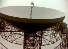 Jodrell Bank Space Telescope. Cheshire