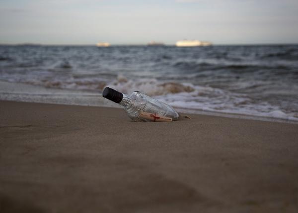 Message in a bottle by Theappertunist