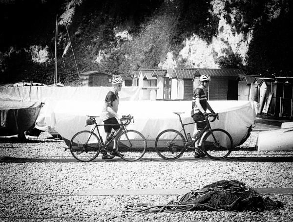 Bikes On Beer Beach by starckimages