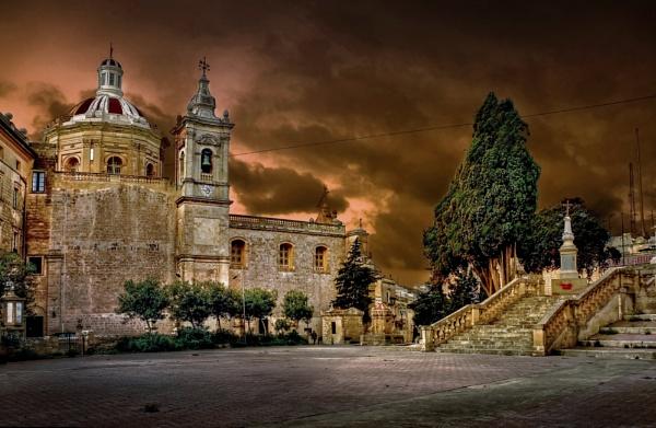 St Paul\'s Church ----- RABAT MALTA by Edcat55