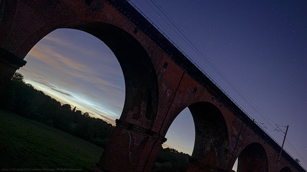 Viaduct Clouds by AntHolloway