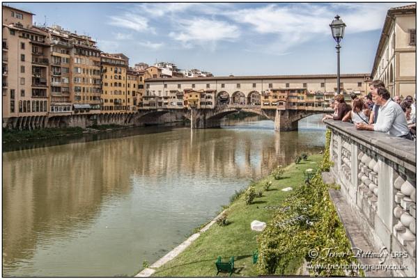 Ponte Vecchio, Florence by TrevBatWCC