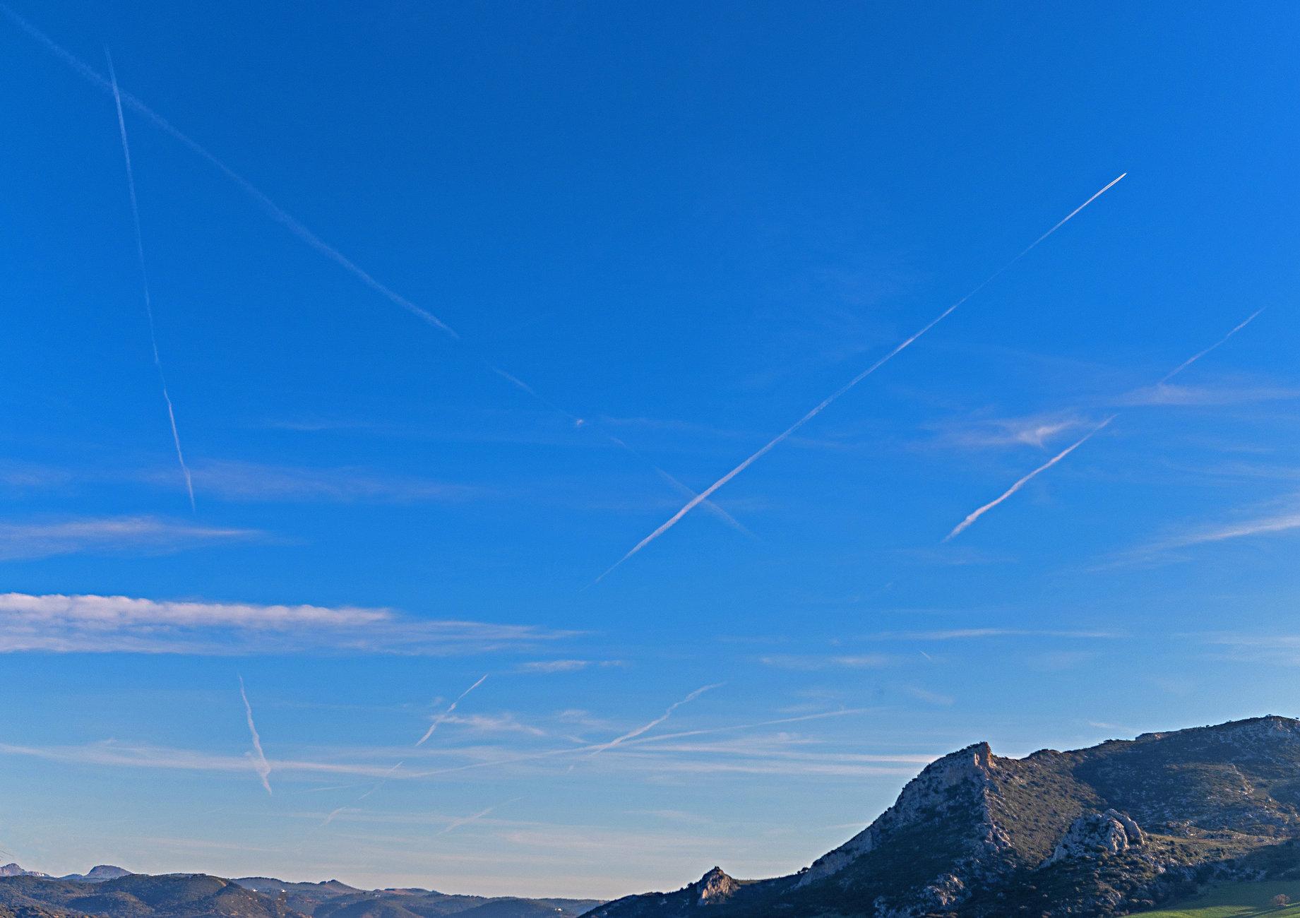 Blue Spanish Skies, With Apologies To Al Martino!