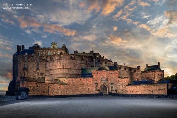 Edinburgh Castle by GHGraham