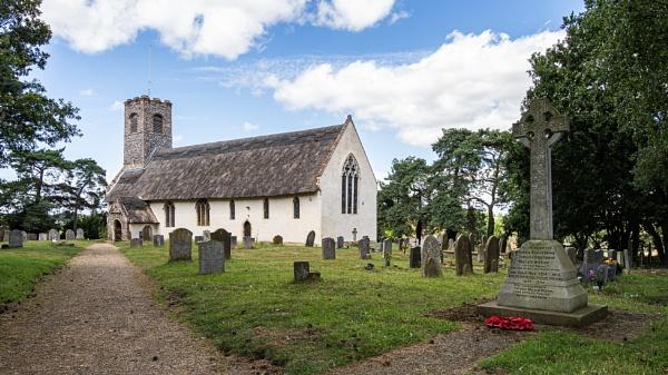 St Ethelbert\'s Church, Thurton by pdunstan_Greymoon