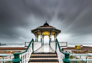 A rainy day in Brighton...