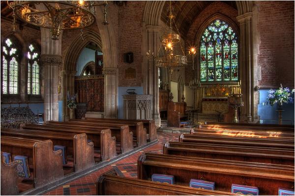 Chapel at Arley Hall by johnriley1uk