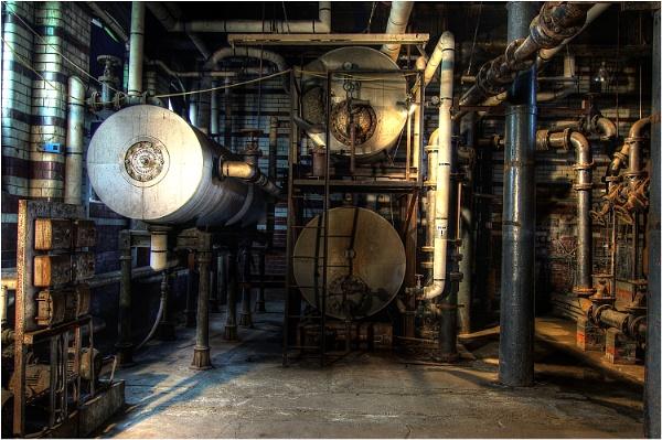 Boiler Room at Victoria Baths by johnriley1uk