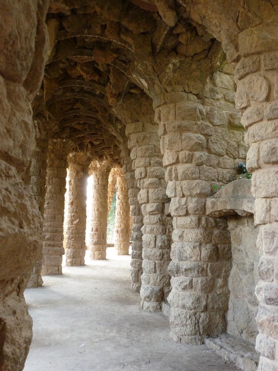 Gaudi's Garden Architecture