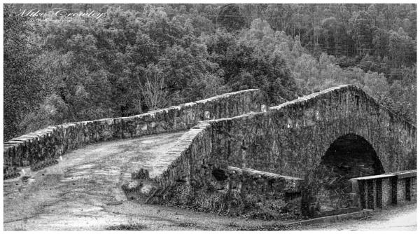 Bridge at Loch Tummel by mikecrowley