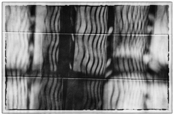 shadow nets on tile floor by bornstupix2