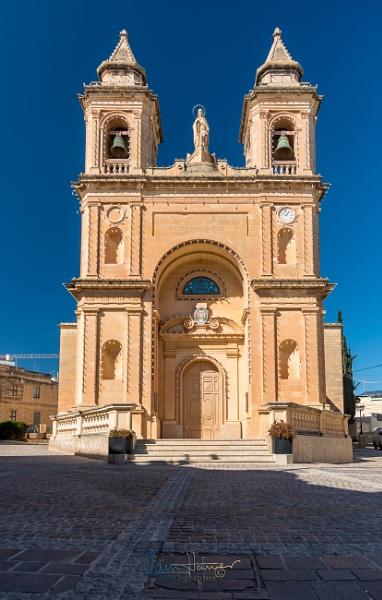 Marsaxlokk Parish Church Malta by IainHamer